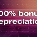 The TCJA temporarily expands bonus depreciation