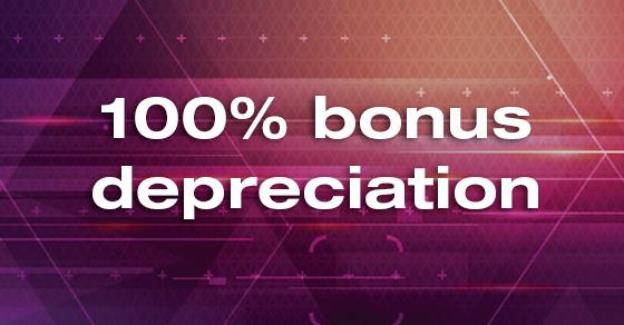 Certified Public Accountant Bonus Depreciation